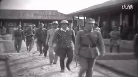 日对华投降原始视频公布 日本投降代表紧张擦汗