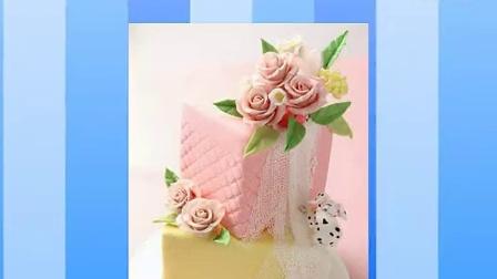 翻糖蛋糕的制作 翻糖蛋糕的做法
