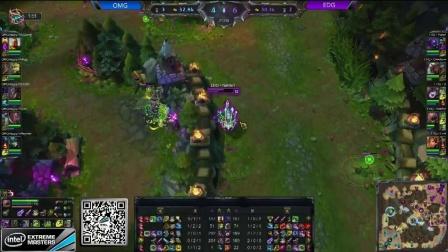 IEM9中国区线上预选赛 OMG VS EDG 第一场