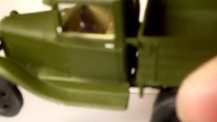 苏联GАZ-ААА卡车模型介绍