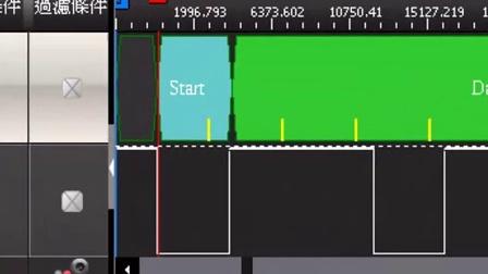 ZEROPLUS 孕龙逻辑分析仪 - 标示取样位置