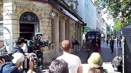 Doctor Who 拍摄现场