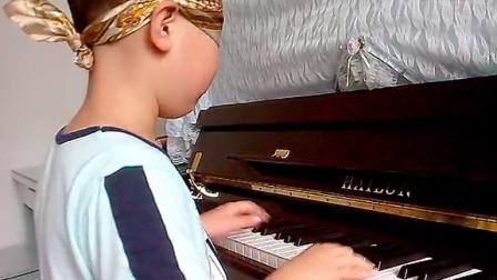 6岁Jack盲弹《卡农》_tan8.com