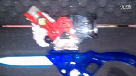 【宇哥拍摄】假面骑士W 成人 蓝色Eternal匕首 E哥武器(DX腰带)
