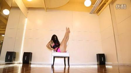 上海钢管舞 轩依钢管舞培训Lisa椅子舞
