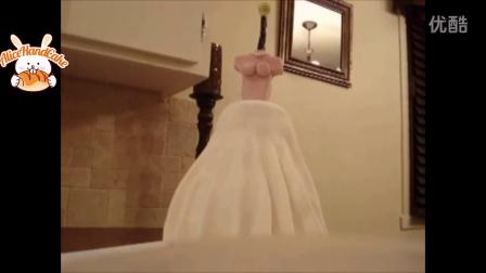 视频教学6翻糖婚纱蛋糕制作方法