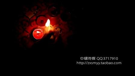 BJ58蜡烛爱心许愿婚庆感恩LED动态背景
