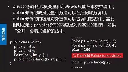 2014最新达内Java视频教程115:public和private