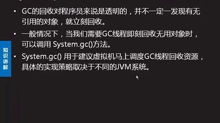 2014最新达内Java视频教程100:System.gc()方法