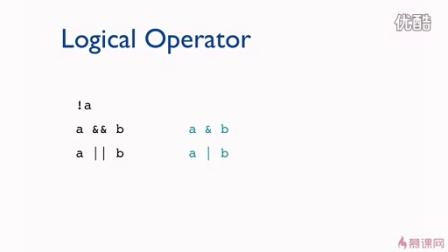 Swift零基础到实战  3-3 逻辑运算符