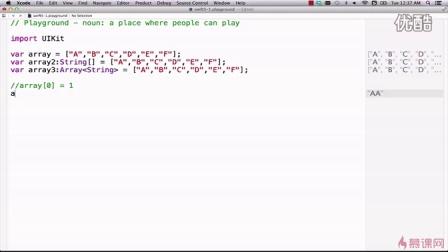 Swift零基础到实战  5-1 数组的初始化_1