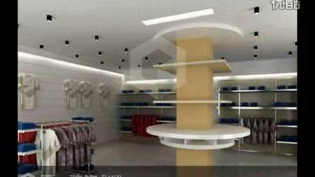 郑州大型服装店装修设计方案案例效果图