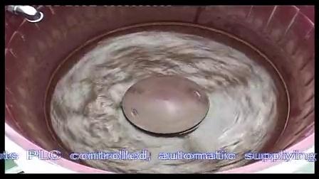 涡流研磨抛光机LLZW50,自动加水和添加剂,可替代离心机使用。