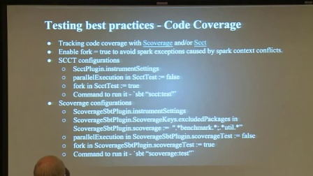Testing Spark  Best Practices - Anupama Shetty, Neil Marshal