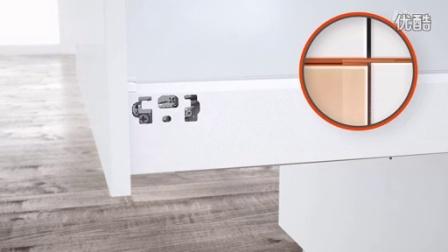 TANDEMBOX antaro 豪华金属抽方杆系列安装视频_高度调节