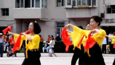 大庆市龙凤区翰城队凤祥广场舞大赛《张灯结彩》