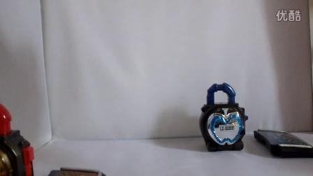假面骑士铠武剧场版金银苹果DX锁种
