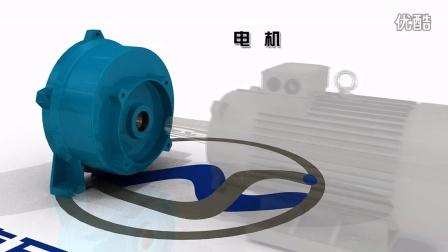 2BV系列水环式真空泵的内部结构-分解视频