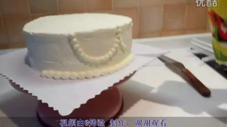 重新上传,装饰裱花蛋糕及水果堆放