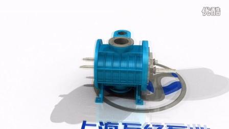 ZJP系列罗茨真空泵的内部结构-分解视频