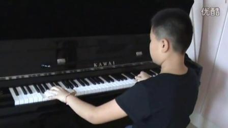 钢琴练习《三度双音练习曲》