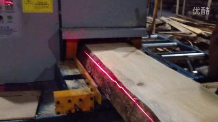 多片锯 加工建筑方生产线 大型高110宽400方木多片锯8
