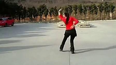 广场舞山里红背面 美久广场舞 又见山里红-含背面分解_标清