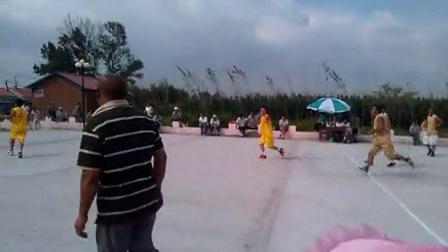 黑龙江省勃利县抢垦乡前进村八一运动会球赛
