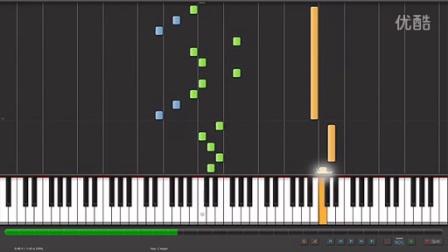 Synthesia Piano 周杰倫 路小雨 (不能说的秘密) 鋼琴版
