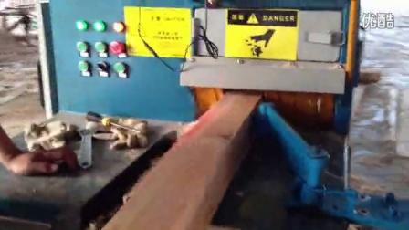 方木多片锯高100加工现场 正启机械