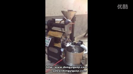 南阳东亿机械设备有限公司3kg咖啡烘焙机工作视频