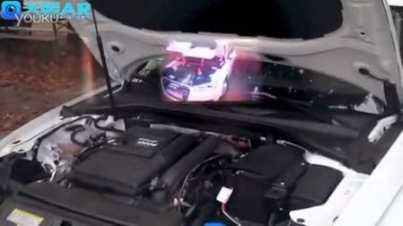 谷歌眼镜增强现实智能汽车维修
