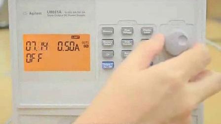 使用具有输出排序功能的是德科技U8031A 直流台式电源进行裕量测试
