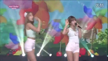 BESTie - Hot Baby(140803SBS人气歌谣HD超清版)