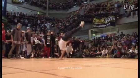【粉红豹】IBE 2009 - 韩国 vs 日本(3-2)_Breaking街舞大赛_bboy
