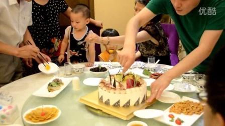 20140804老公生日分蛋糕