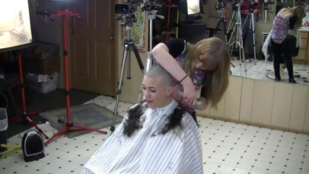Brooke's smoothest headshave ever