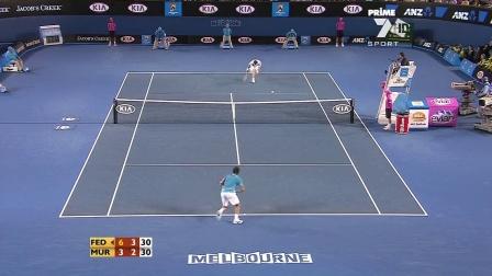 【自制HL】2010·澳网·男单·决赛·费德勒VS穆雷