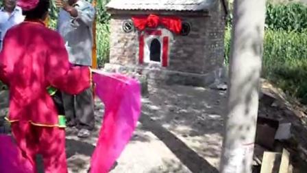 赤峰市松山区山前村《九神庙》神仙就位仪式3