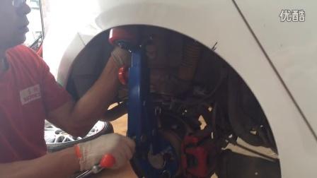 【弗斯特】汽车叶子板轮弧扩张器操作