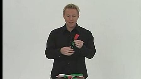 餐巾纸折玫瑰花 Napkin Rose