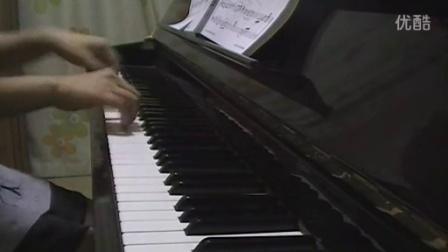 [钢琴曲]林夏薇 - 很想讨厌你(单恋双城 主题曲)D调完整版