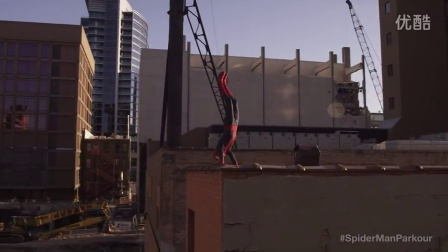 The Amazing Spider-Man Parkour
