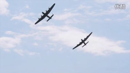 Two_Lancaster_Bombers_fly_together_for_first_time_in_50_year