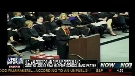 School Bans Prayer But Valedictorian Had..