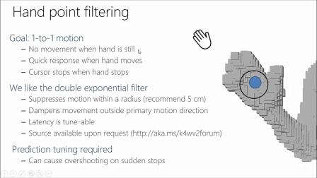 [KinectV2]第七课:深入话题:骨骼追踪和深度滤波