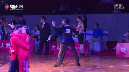 【会员】专业21岁组拉丁舞刘治中高蕊伦巴