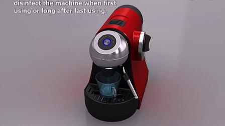 胶囊咖啡机使用