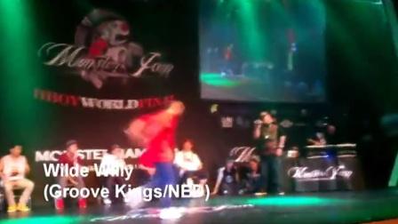 【粉红豹】Monster Jam 2011 Wilde Willy vs Kaku_Breaking