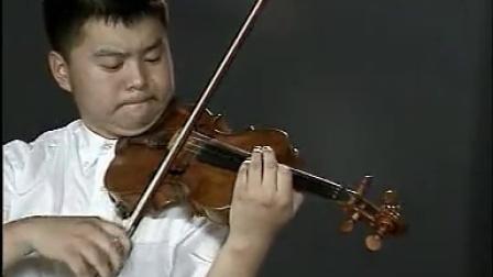 袁泉小提琴演奏《黎家代表上北京》